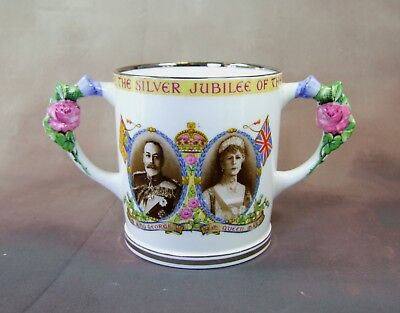 Paragon Fine Bone China - Loving Cup - 1910 - 1935 - Made in England.
