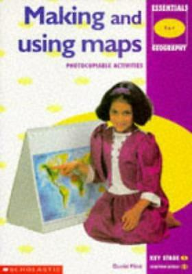 Making and Using Maps (Essentials Geography), Flint, David, Good Condition Book,