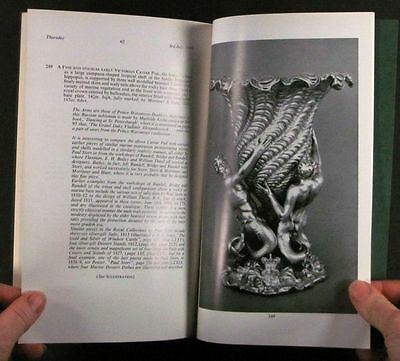 Antique English Regency & Victorian Sterling Silver @ Sotheby's 1969 Catalog