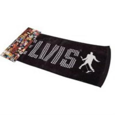 Official Elvis Presley The King Bar Towel Soft Cotton Cloth