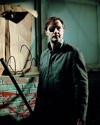 David MORRISSEY SIGNED Autograph Photo 2 AFTAL COA Walking Dead The Governor