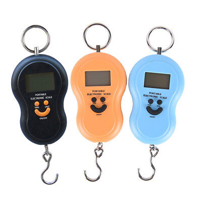 portable 50kg 10g electronic hanging fishing luggage pocket digital weight* scale