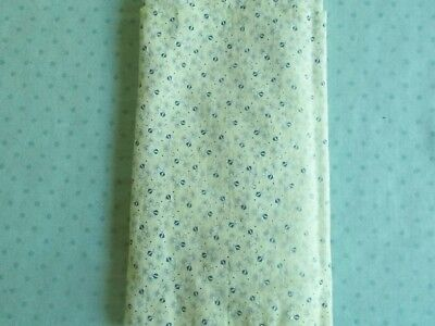 Antique Cotton Tiny Print Fabric For Dolls And Quilts #461