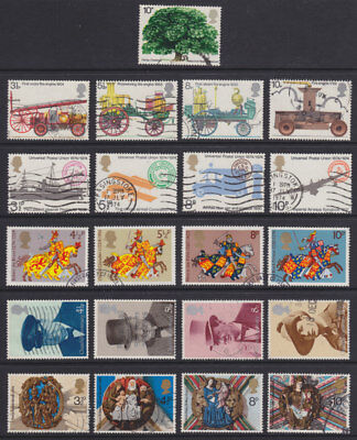 1974 Complete Commemorative Year Set ( 6 Sets ) Used