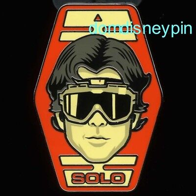 Disney Pin *Solo: A Star Wars Story* Booster Set - Young Solo (Headshot)!