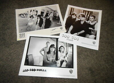 GOO GOO DOLLS 3 x Press Kit 8x10 Promo Photos ONLY Superstar Boy Named Hold Me