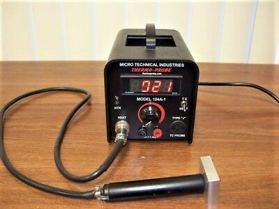 Micro Technical Industries 104A-1 Digital Thermo-Probe