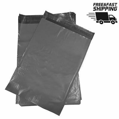 Strong Self Seal Poly Grey Mailing Bags Postal Various Sizes & Quantities