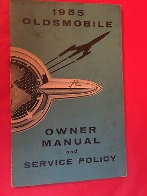 x. 1955 Oldsmobile Car Owner's Manual