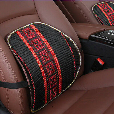 Breathable Healthcare Lumbar Cushion Back Support For Car Seat Office Chair B
