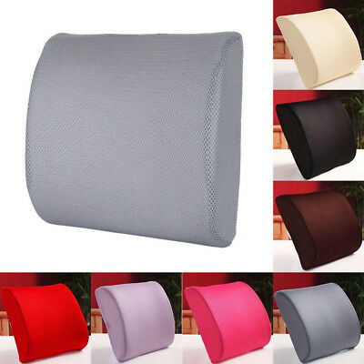 Memory Foam Breathable Healthcare Lumbar Cushion Back Support Car Seat And Chair