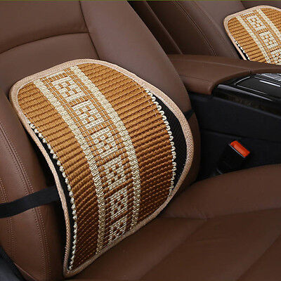 Breathable Healthcare Lumbar Cushion Back Support For Car Seat Office Chair C