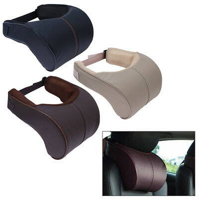 Memory Cushion Car Headrest Neck Rest Safety Seat Support Pillow Cushion