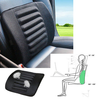 Mesh Cloth Car Seat Lumbar Soft Cushion Back Support For Car Seat Office Chair