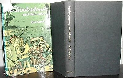 TROUBADOURS of 12th & 13th CENTURIES Jack Lindsay 1st Ed MEDIEVAL FRENCH POETRY