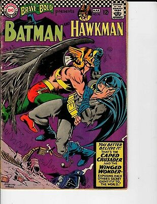 DC Comics the Brave and the Bold Batman and Hawkman #70 March 1967 VG 4.0