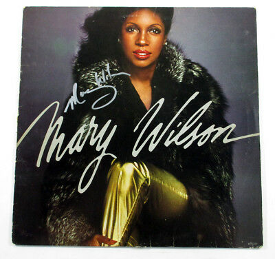 Mary Wilson Signed LP Record Album Self-Titled w/ AUTO