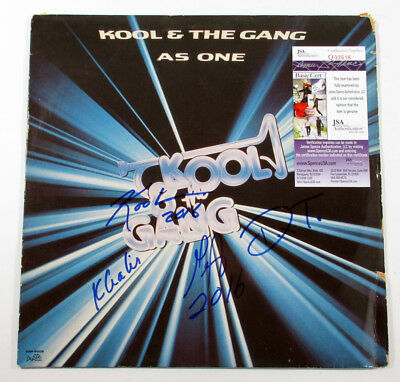 Kool & The Gang Signed LP Record Album As One w/ 4 JSA AUTOS DF018963