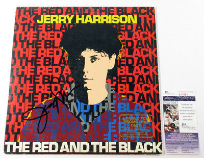 Jerry Harrison Signed LP Record Album The Red and the Black w/ JSA AUTO