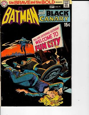 DC Comics the Brave and the Bold Batman and Black Canary #91 September Fine 6.0