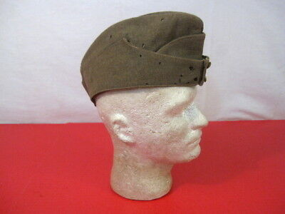 WWI ANZAC New Zealand Forces Wool Overseas Garrison or Side Cap - Size 7 - RARE