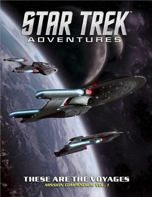 Modiphius Star Trek Advent These are the Voyages - Mission Compendium V HC MINT