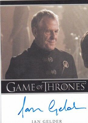 2018 Game Of Thrones Season 7 Ian Gelder Autograph Trading Card