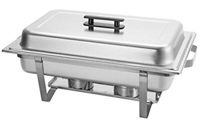 Large Chafing Dish 9-Liter 9.5 Quart Stainless Steel Buffet Catering Restaurant