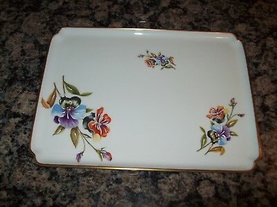 "RARE Beautiful Hand-Painted EXCLUSIVITE ""CHAMART"" LIMOGES FRANCE VANITY TRAY"