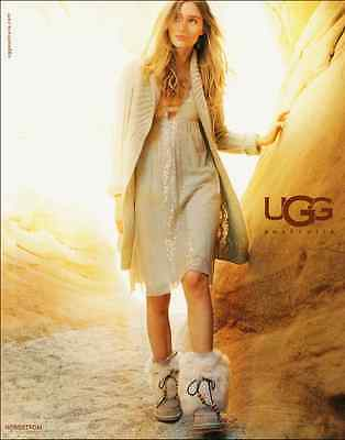 2006 glamour ad for Uggs Boots at Nordstroms  -050912
