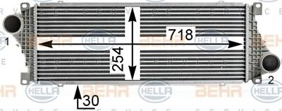 BEHR HELLA SERVICE Genuine Intercooler Charger 8ML376700-624