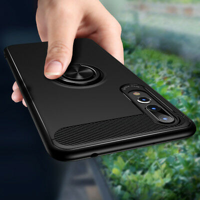 Case for Huawei P20 Pro P20Lite Honor 10 Magnetic Rotating Soft TPU Back Cover