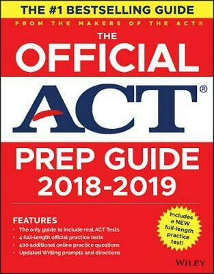 The Official ACT Prep Guide, 2018-19 Edition (Book + Bonus Online Content) by Ac