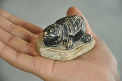 Old White Marble Handcrafted Unique Tortoise Shape Paper Weight