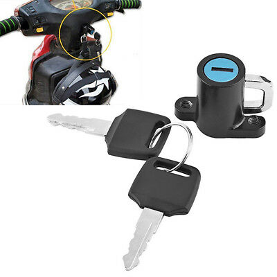 Motorcycle Helmet Lock Motorbike Bike Helmet Lock Hanging Hook Helmet Lock
