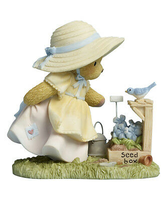 "Cherished Teddies ""plant With Love"" Avril Flowers #4045932 New *  Free Shipping"