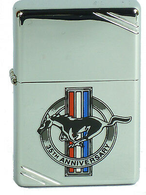 Zippo Ford Mustang 35th Anniversary Vintage1937 Replica polish poliert aus 1999