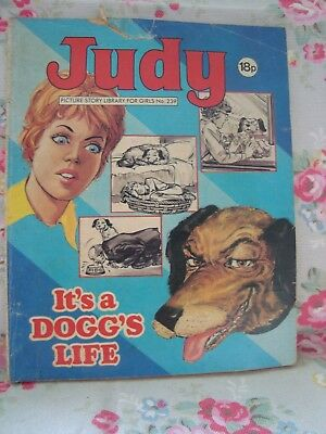 1983  JUDY picture library for girls  No.239 -  It's a Dogs Life