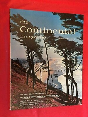 "k. 1962 Lincoln ""The Continental Magazine"" Car Dealer Sales Magazine"