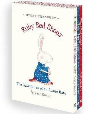 NEW Ruby Red Shoes Story Treasury By Kate Knapp Boxed, Slipcased or Casebound