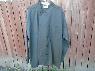 Chef Coats Green Chef Coats size XL $5.00 each in Excellent Condition