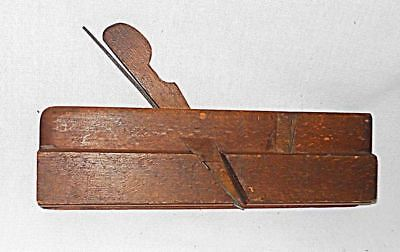 Antique Wood Working Plane Auburn 5/8 and Steel Blade 9 1/4 inch Rustic Decor