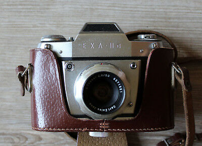 Camera Exa II a with Tessar 2,8/50 Carl Zeiss Jena
