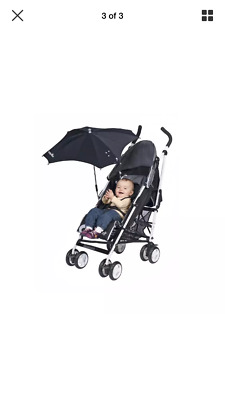 Babymoov Anti-UV Parasol (Black) Universal Fitting Umbrella Sun Protection Pram