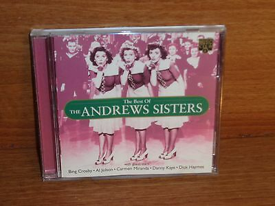 THE BEST OF THE ANDREWS SISTERS : CD Album : 1995 : MCCD 199