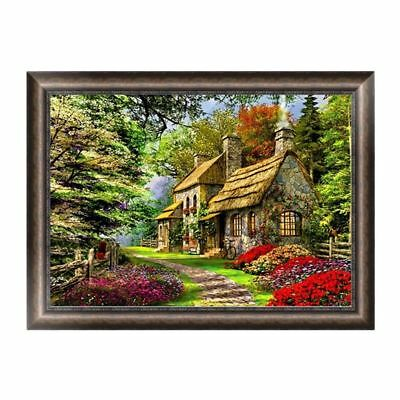 "Diamond Painting - Diamant Malerei - Stickerei - ""Waldhaus"" (440)"