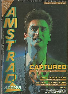 Amstrad Action - Issue 15 - December 1986 - Magazine