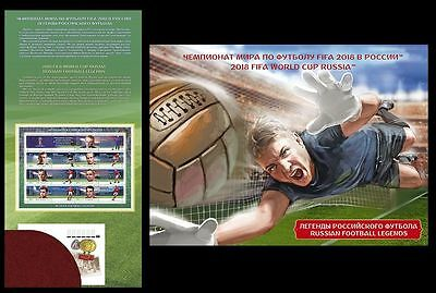 2015 Russia. 2018 FIFA World Cup Russia™. Legends of Soccer Booklet