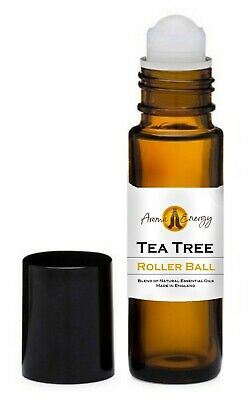 TEA TREE - Essential Oil - Roller Ball Pulse Point Roll On - 10ml / 50ml / 100ml
