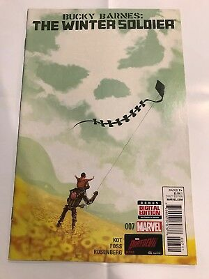 Bucky Barnes The Winter Soldier #7 Marvel Comic 1st Print 2014 NM